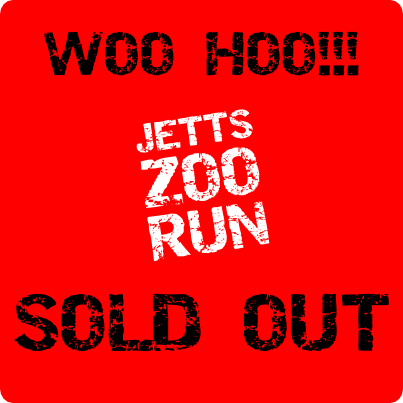 Jetts Zoo Run - SOLD OUT