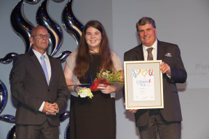 Young Citizen of the Year Winner - Tegan Lather