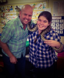 with shane and snake