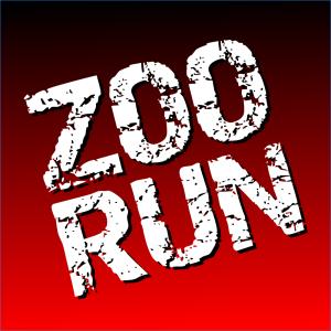 Zoo Run Logo RedandBlack 1000x1000pixels